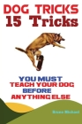Dog Tricks: 15 Tricks You Must Teach Your Dog before Anything Else Cover Image
