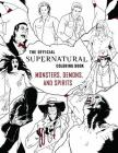 The Official Supernatural Coloring Book: Monsters, Demons, and Spirits Cover Image