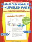 Read-Aloud Mini-Plays with Leveled Parts: 20 Reproducible High-Interest Plays That Help Kids at Different Reading Levels Build Fluency Cover Image