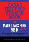 CASAS Test Prep Student Book for Math GOALS Form 918 M Level C/D Cover Image