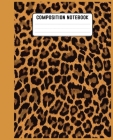 Composition Notebook: Gifts / Gift / Presents ( Leopard Skin / Fur - Ruled Notebook ) Cover Image