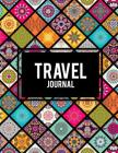 Travel Journal: Mandala Art Design, 2019 Calendar Trip Planner, Personal Traveler's Notebook 8.5