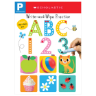 ABC 123 Write and Wipe Flip Book: Scholastic Early Learners (Write and Wipe) Cover Image