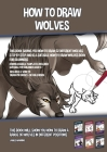 How to Draw Wolves (This Book Shows You How to Draw 32 Different Wolves Step by Step and is a Suitable How to Draw Wolves Book for Beginners): This bo Cover Image