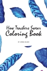 How Teachers Swear Coloring Book for Young Adults and Teens (6x9 Coloring Book / Activity Book) Cover Image