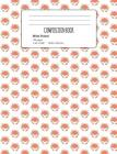Composition Book: Nautical Crab Pattern Composition Notebook Wide Ruled 7.5 x 9.7 in, 120 pages book for girls, school kids, students an Cover Image