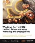 Windows Server 2012 Unified Remote Access Cover Image