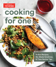Cooking for One: Scaled Recipes, No-Waste Solutions, and Time-Saving Tips Cover Image