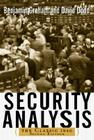 Security Analysis: The Classic 1940 Edition Cover Image