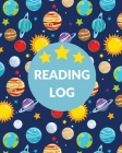Book Log For Kids: Reading Notebook, Record And Organize Book Information, Writing Prompts For Young Readers, Student And Homeschool Read Cover Image