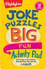 Joke Puzzles Big Fun Activity Pad (Highlights Big Fun Activity Pads) Cover Image