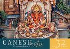 Ganesh Art Postcard Book: 32 Postcards Cover Image