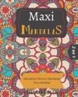 Maxi Mandalas: 2 en 1; Mandalas Perros, Mandalas Para Meditar Cover Image