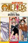 One Piece (Omnibus Edition), Vol. 4: Includes vols. 10, 11 & 12 Cover Image