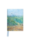 Van Gogh: Wheat Field with a Lark (Foiled Pocket Journal) Cover Image