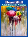 Beautifull Adult Color By Number Coloring Book Cover Image