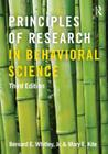 Principles of Research in Behavioral Science Cover Image
