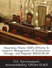 Hazardous Waste: Dod's Efforts to Improve Management of Generation, Storage, and Disposal: Nsiad-86-60 Cover Image