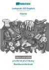 BABADADA black-and-white, Leetspeak (US English) - Vlaams, p1c70r14l d1c710n4ry - Beeldwoordenboek: Leetspeak (US English) - Flemish, visual dictionar Cover Image