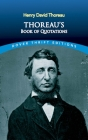 Thoreau's Book of Quotations (Dover Thrift Editions) Cover Image