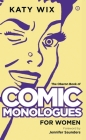 The Oberon Book of Comic Monologues for Women Cover Image
