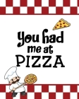 You Had Me At Pizza, Pizza Review Journal: Record & Rank Restaurant Reviews, Expert Pizza Foodie, Prompted Pages, Remembering Your Favorite Slice, Gif Cover Image