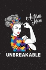 Autism Mom Unbreakable World Autism Awareness Day Final Planning Book Cover Image