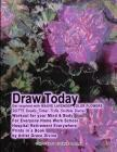 Draw Today Get Inspired with Mauve Lavender Color Flowers Cover Image
