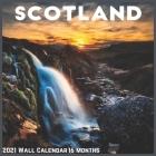Scotland Wall Calendar 2021: Official Scotland Calendar 2021 Cover Image