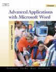 Advanced Applications with Microsoft Word [With CDROM] Cover Image