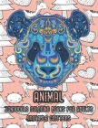 Zendoodle Coloring Books for Adults Adorable Critters - Animal Cover Image