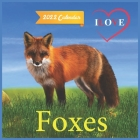 Ilove Foxes Calendar 2022: official Foxes calendar 2022,12 months, calendar Wild Animals, Square Calendar Cover Image
