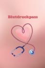 Blutdruckpass: Platz für 2000 Messungen - ca. DIN A6 - unkompliziert, übersichtlich, klein und handlich - Blutdrucktagebuch zum Ausfü Cover Image