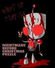 nightmare before christmas puzzle: Nonogram puzzle books, fun, Logic Grid Puzzles, 99 Pages . Cover Image