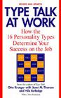 Type Talk at Work (Revised): How the 16 Personality Types Determine Your Success on the Job Cover Image