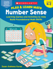 Play & Learn Math: Number Sense: Learning Games and Activities to Help Build Foundational Math Skills Cover Image