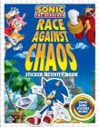 Race Against Chaos Sticker Activity Book (Sonic the Hedgehog) Cover Image