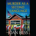 Murder as a Second Language Lib/E (Claire Malloy Mysteries (Audio) #19) Cover Image