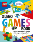 The LEGO Games Book (Library Edition): 50 Fun Brainteasers, Games, Challenges, and Puzzles! Cover Image