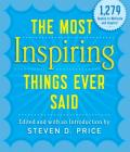 The Most Inspiring Things Ever Said Cover Image