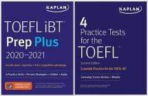 TOEFL Prep Set (Kaplan Test Prep) Cover Image
