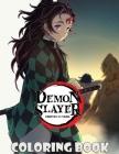 Demon Slayer Coloring Book: Kimetsu No Yaiba High Quality Coloring Book Cover Image