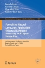 Formalising Natural Languages: Applications to Natural Language Processing and Digital Humanities: 14th International Conference, Nooj 2020, Zagreb, C (Communications in Computer and Information Science #1389) Cover Image