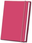 Pink Fabric Journal Cover Image