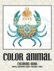 Color Animal - Coloring Book - Impala, Groundhog, Rabbit, Crocodile, other Cover Image