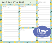 One Day at a Time Daily List Pad (Flow) Cover Image