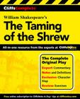 CliffsComplete The Taming of the Shrew Cover Image