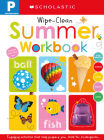 Pre-K Summer Workbook: Scholastic Early Learners (Wipe-Clean) Cover Image
