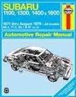Haynes Subaru 1100, 1300, 1400, 1600 Manual, No. 237: '71 Thru '79 (Haynes Manuals) Cover Image