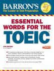 Essential Words for the TOEIC with MP3 CD (Barron's Test Prep) Cover Image